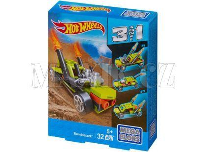 Megabloks Micro Hot Wheels 3v1 angličák - Rumblejack - Poškozený obal