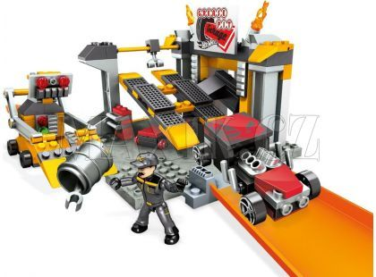 Megabloks Micro Hot Wheels základní hrací set - CNF43