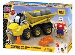 MEGABLOKS Mini Nákladní vůz CAT pro převoz kamene