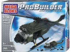 MEGABLOKS ProBuilder Armádní helikoptéra