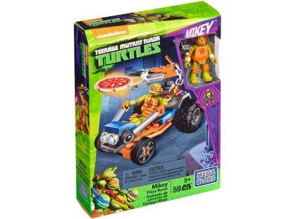 MegaBloks Želvy Ninja Závodníci - Mickey Pizza Racer
