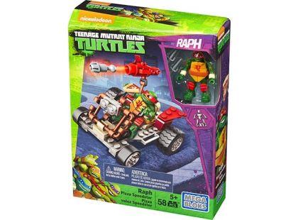 MegaBloks Želvy Ninja Závodníci - Raph Pizza Speeder