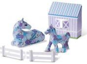 Melissa & Doug Decpupage kůň a pony