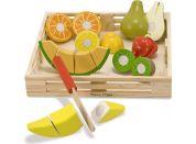 Melissa & Doug Kuchyňský set ze dřeva Krájení ovoce