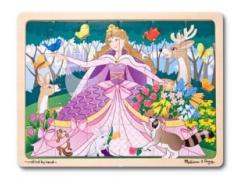 Melissa & Doug Puzzle Princezna