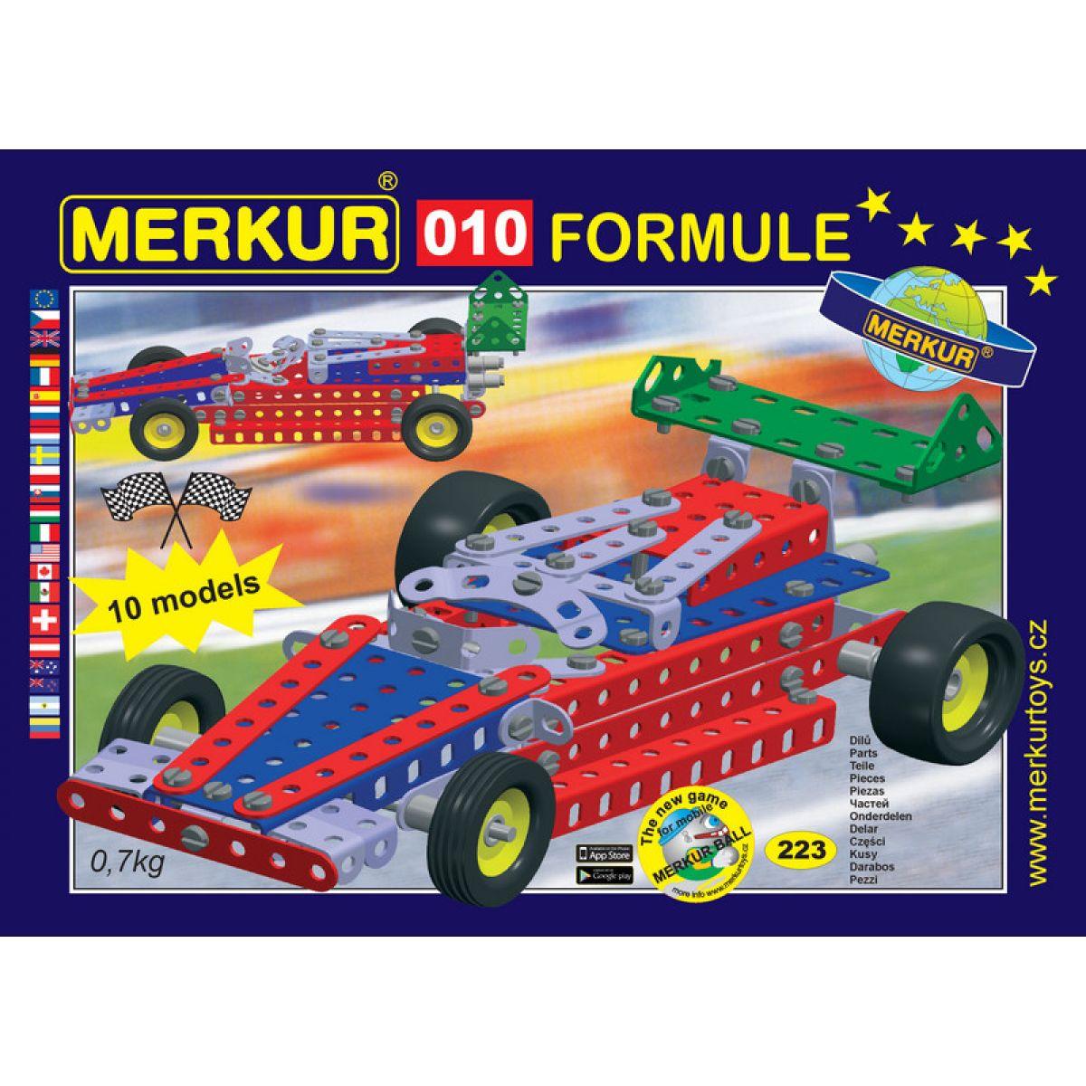 Merkur 010 Formule