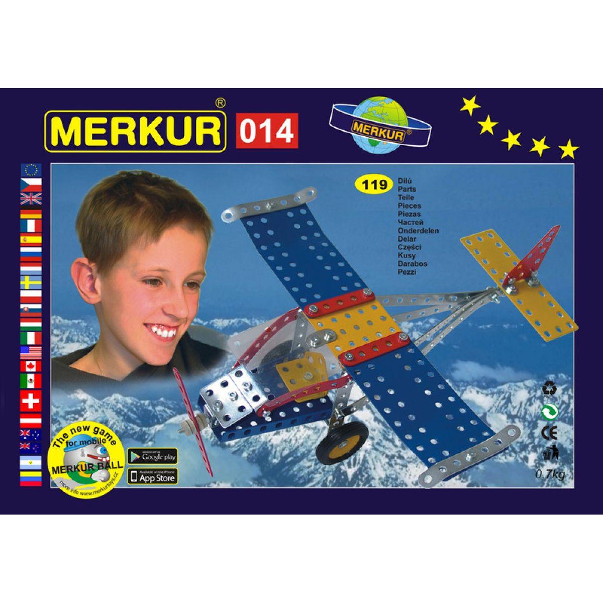 Merkur 014 Letadlo