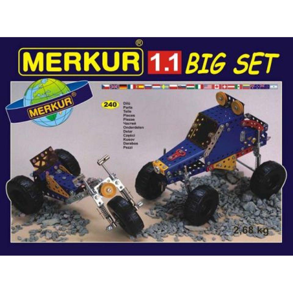 Merkur 1.1 Vozidla