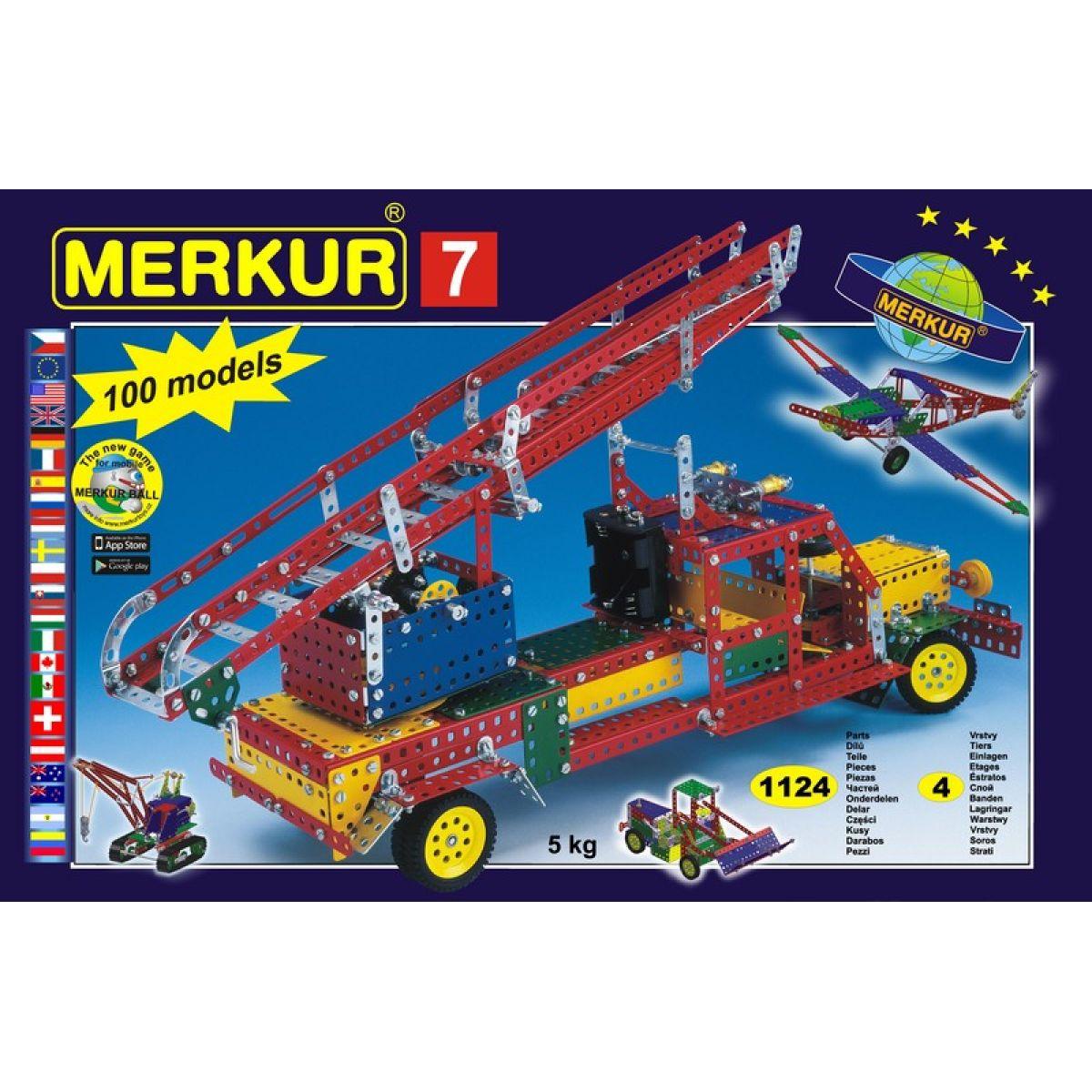 Merkur 7 stavebnice