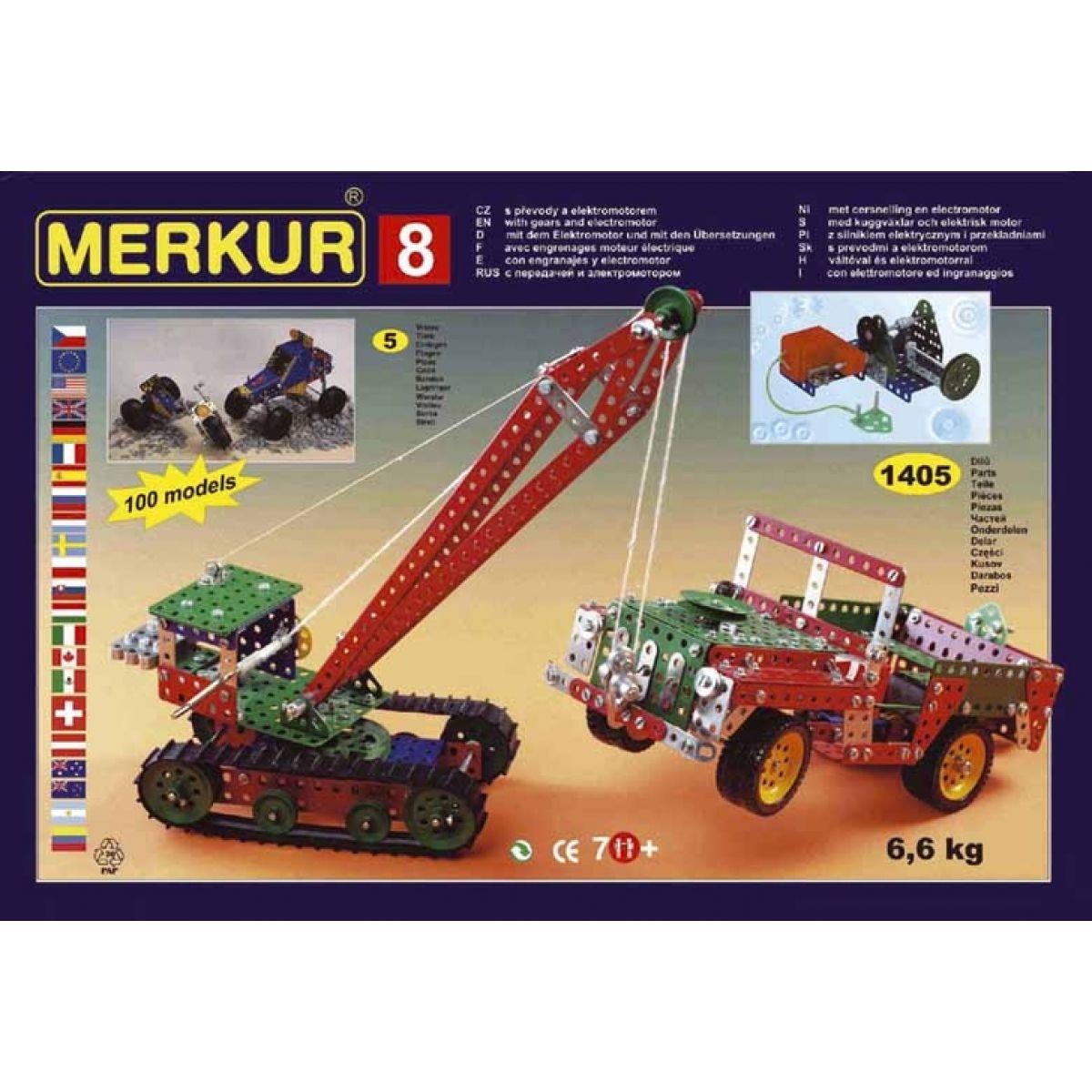 Merkur 8 stavebnice