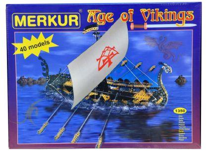 Merkur Age of Vikings 40 modelů
