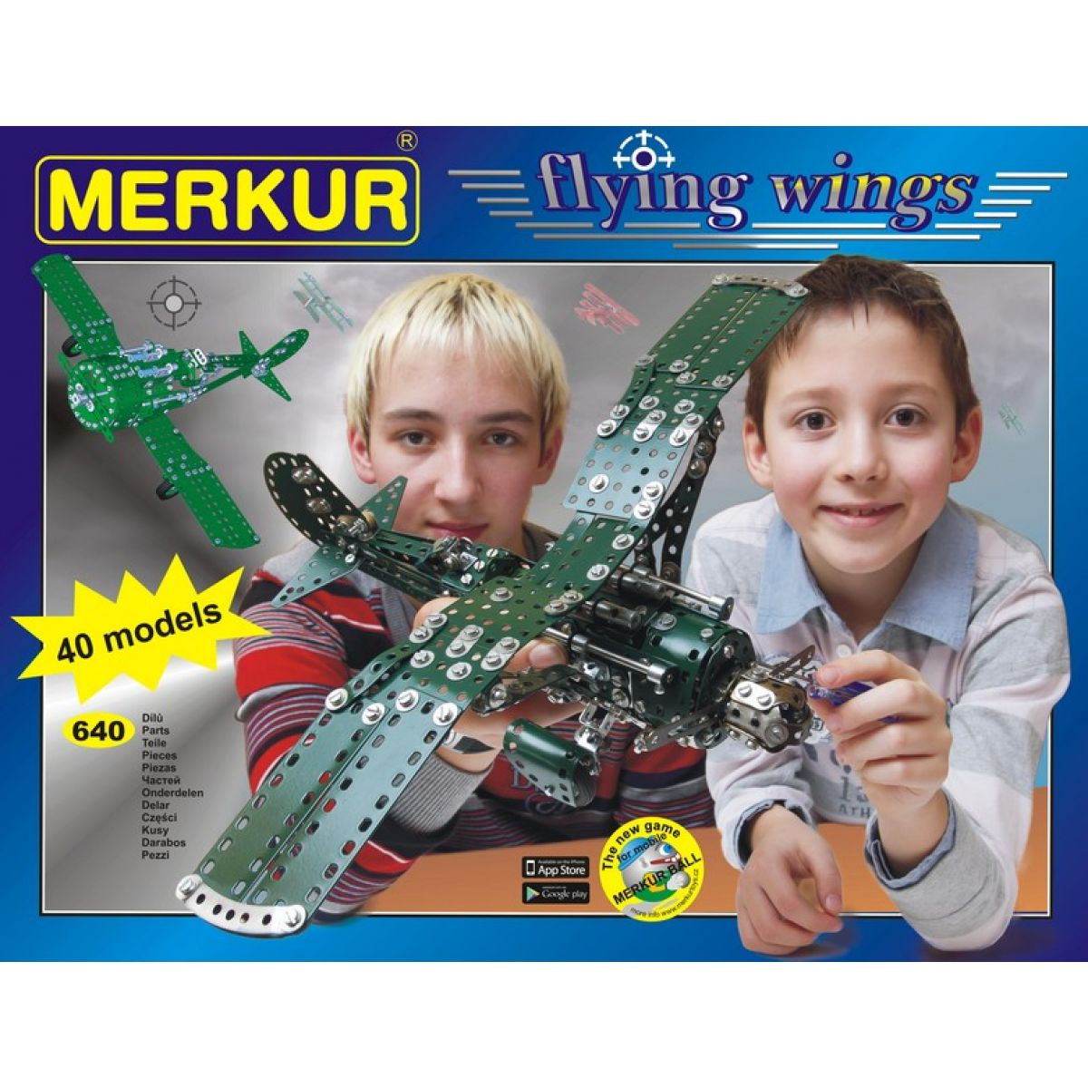 Merkur Flying wings 40 modelů