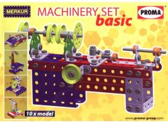 Merkur Machinery set Basic 10 modelů