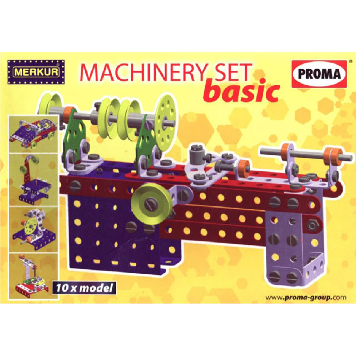 Merkur Machinery set Basic 10 modelů