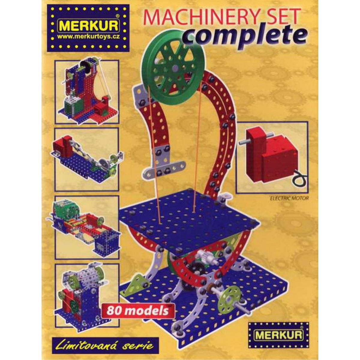 Merkur Machinery set Complete 80 modelů