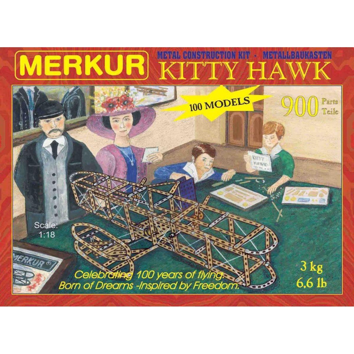Merkur stavebnice Kitty Hawk 900d