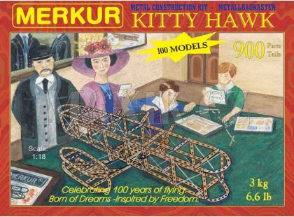 Merkur stavebnice Kitty Hawk 900d