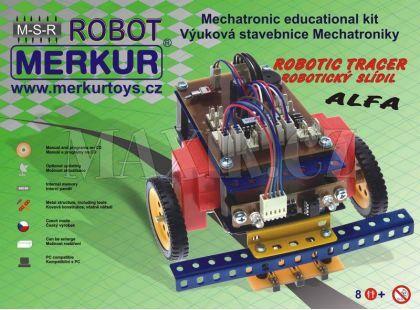 Merkur Stavebnice Robotický Slídil ALFA RC