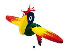 Mertens Dřevěný Papoušek malý
