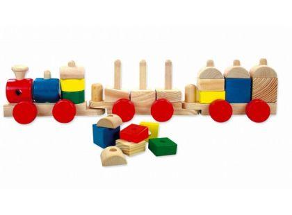 Mertens Dřevěný vlak
