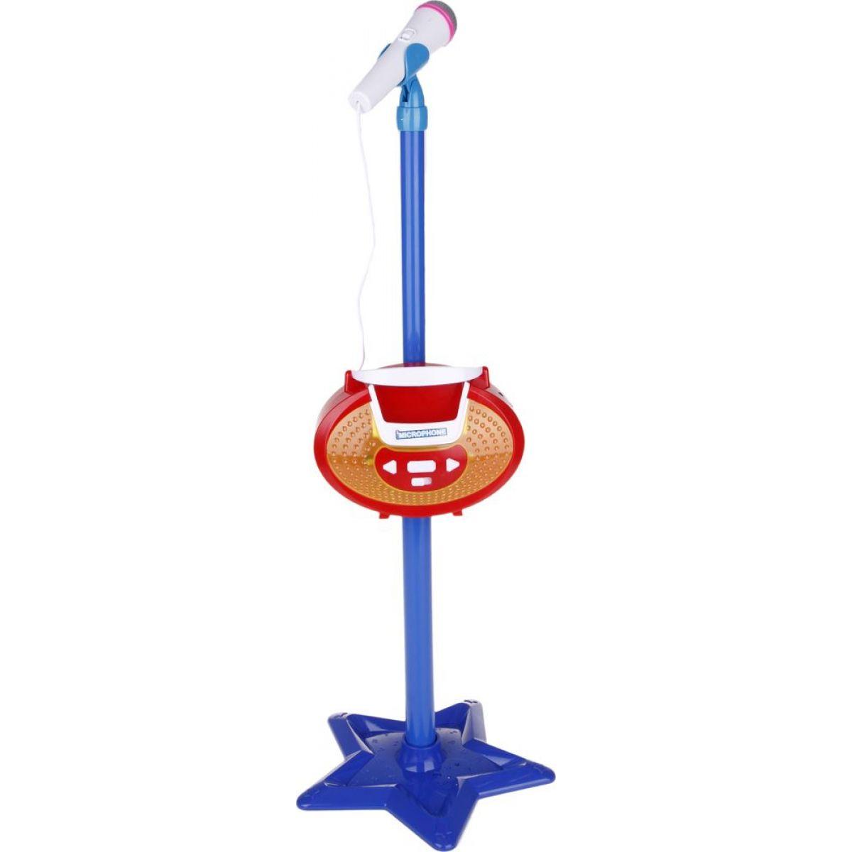 Mikrofon se stojanem - Modrá