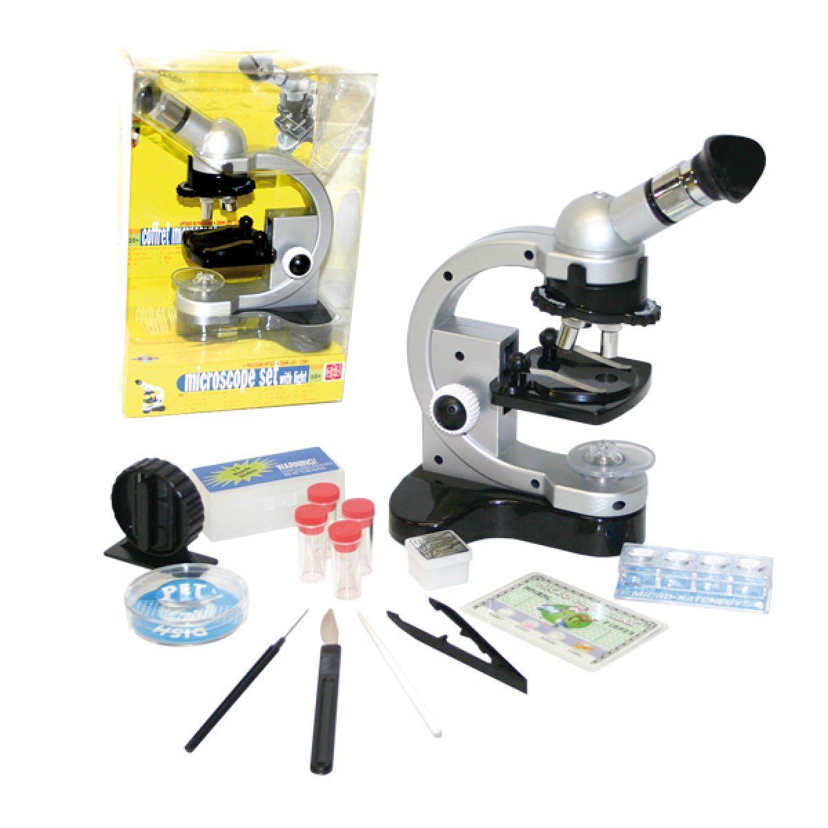 Mikroskop kovový 1200x Zvětšení