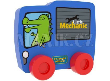 Millaminis Autíčko - Krokodýl