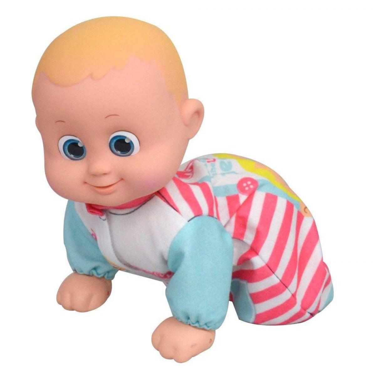 Miminko Bouncin Babies lezoucí Baniel a Bounie Pojď k mamince Chlapeček - Poškozený obal