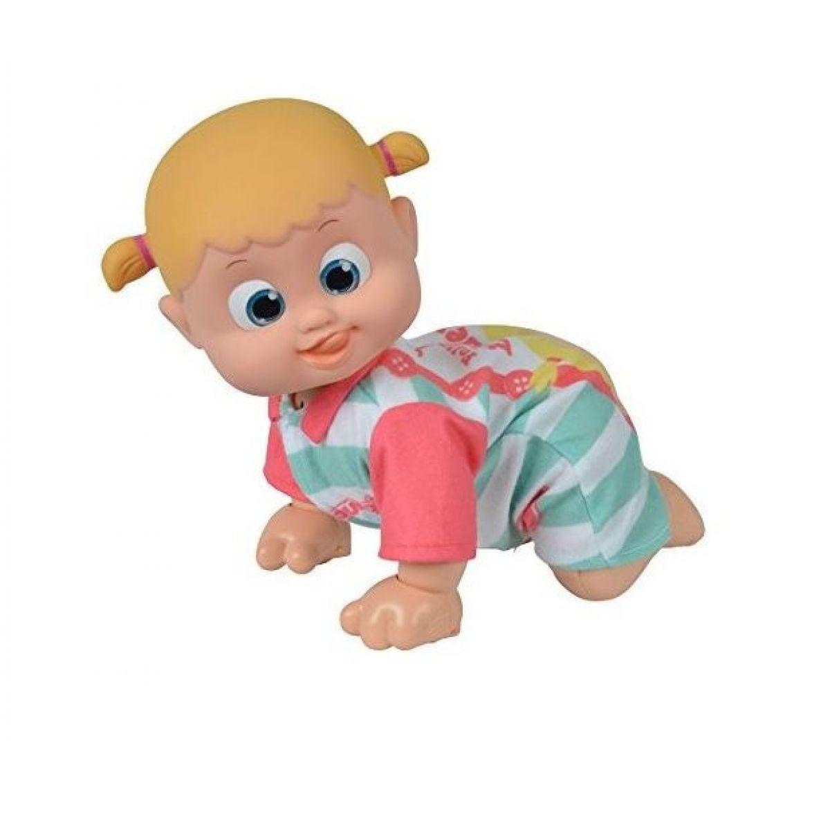 Miminko Bouncin Babies lezoucí Baniel a Bounie Pojď k mamince Holčička