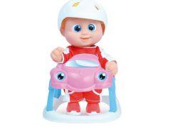 Miminko Bouncin Babies v autíčku Baniel
