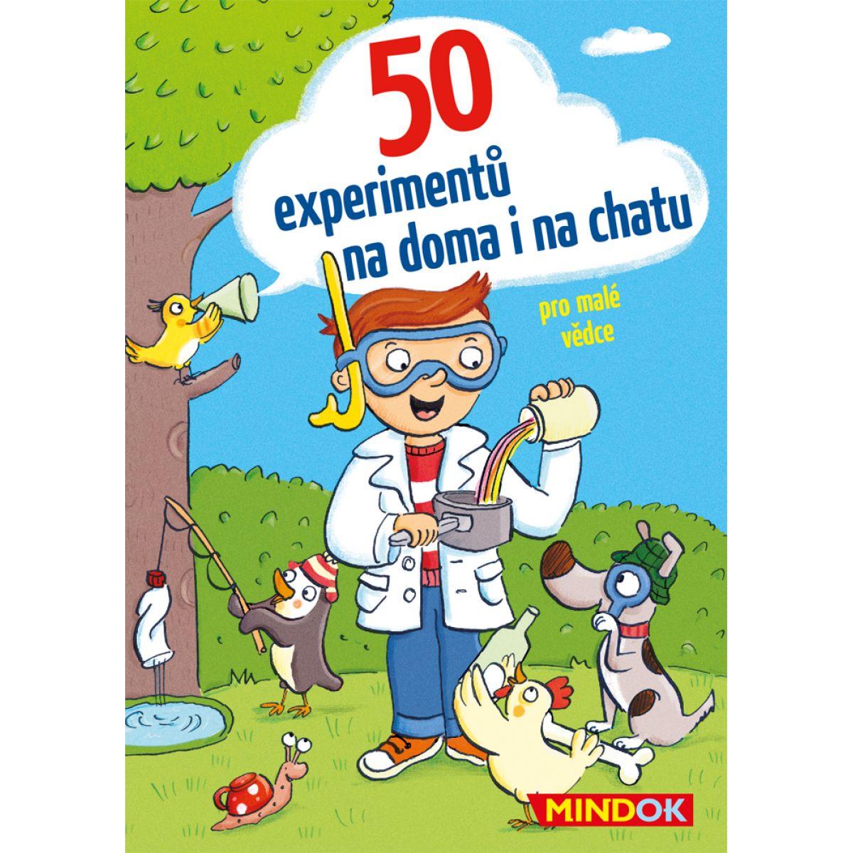 Mindok 50 Experimentů na doma i na chatu