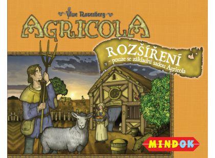 Mindok Agricola rozšíření