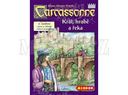Mindok Carcassonne Rozšíření 6 Král, hrabě a řeka