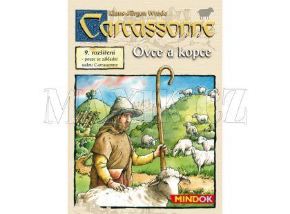 MindOK Carcassonne rozšíření 9: Ovce a kopce