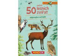 Mindok Expedice příroda 50 lesních zvířat