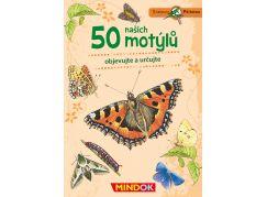 Mindok Expedice příroda 50 našich motýlů
