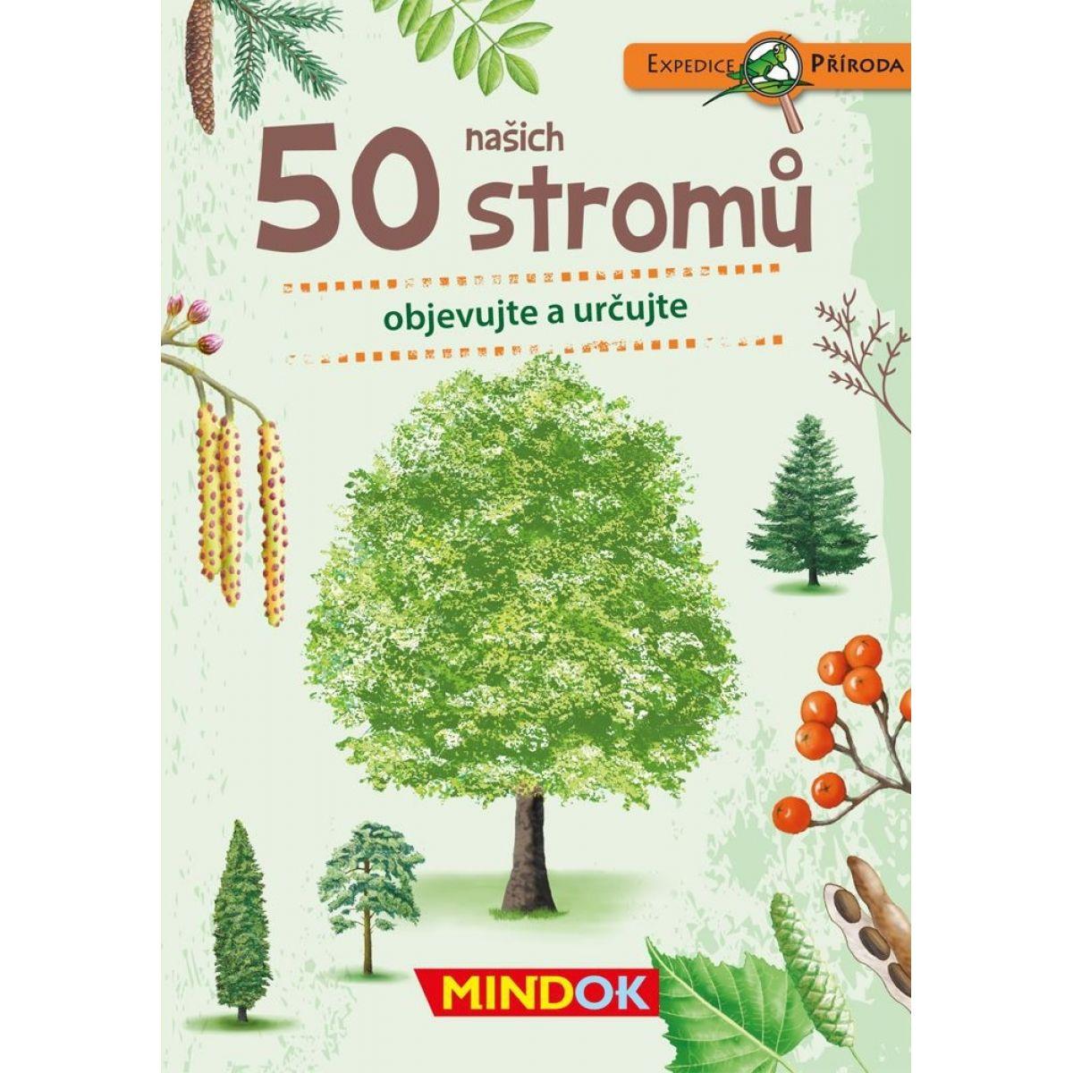 Mindok Expedice příroda: 50 našich stromů