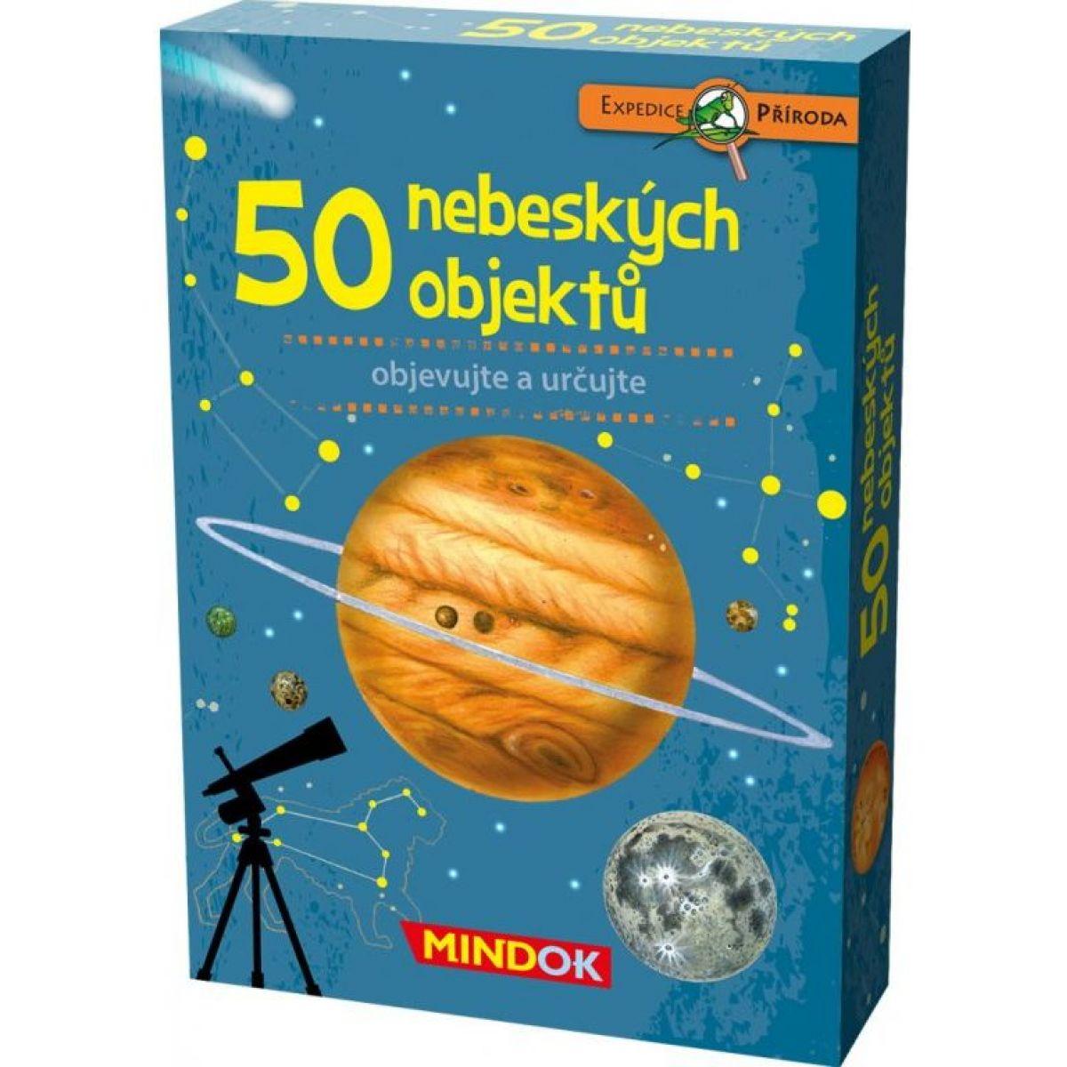Mindok Expedice příroda 50 nebeských objektů
