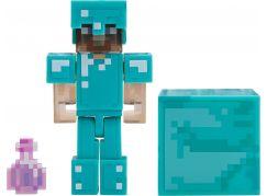 Minecraft figurka Steve s elixírem neviditelností