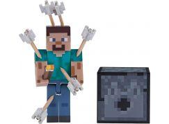 Minecraft figurka Steve s šipkami