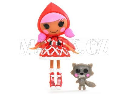 Mini Lalaloopsy Panenka - Scarlet Riding Hood