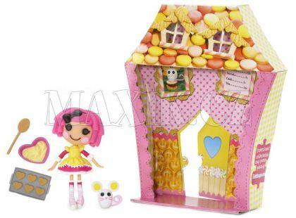 Mini Lalaloopsy Panenka s doplňky a domečkem - Crumbs Sugar Cookie