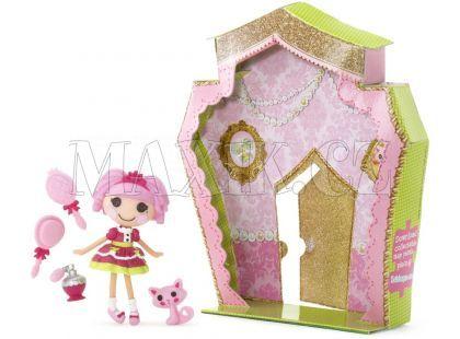 Mini Lalaloopsy Panenka s doplňky a domečkem - Jewel Sparkles