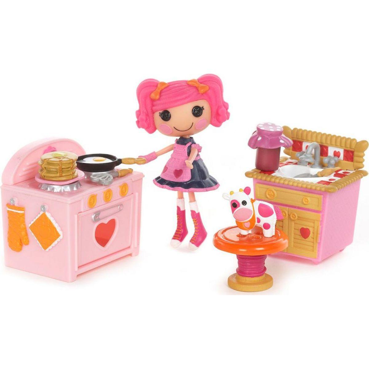 Mini Lalaloopsy pokojíček, 2 druhy - Kuchyňka