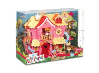 Mini Lalaloopsy Růžový domeček
