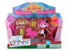 Mini Lalaloopsy Zábavný domeček - Blosson a Charlotte 3