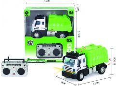 Mini RC Technické služby Popelářský vůz 1:64 2,4Ghz