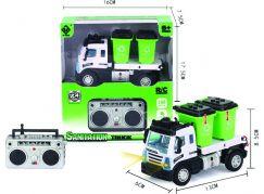 Mini RC Technické služby Vůz na tříděný odpad 1:64 2,4Ghz
