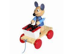 Miva Tahací myš s xylofonem