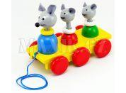 Miva Tři myšky tahací